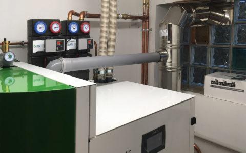 Chaudière à granulés Okofen Smart XS chauffage 2 zones